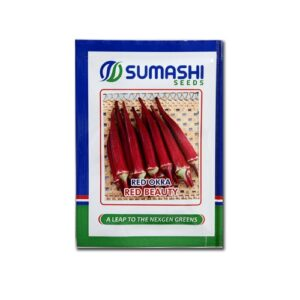 Red Okra Red beauty - Sumashi seeds