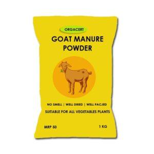 Green Tech Goat Manure Powder