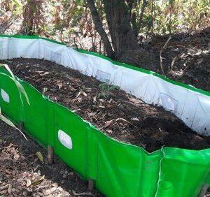MIPATEX Vermi Compost Bed 8x4x2 ft - 250 GSM