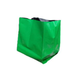Grow Bags 40x24x24 cms Green/ Black - Pack Of 18 ( Economy Pack)