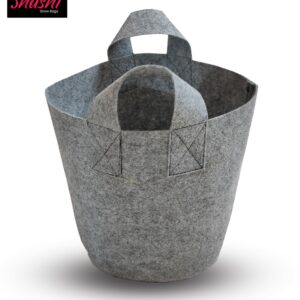 """Geotextile Growbag Grey 10x10"""" - 350 Gsm - Pack of 5"""